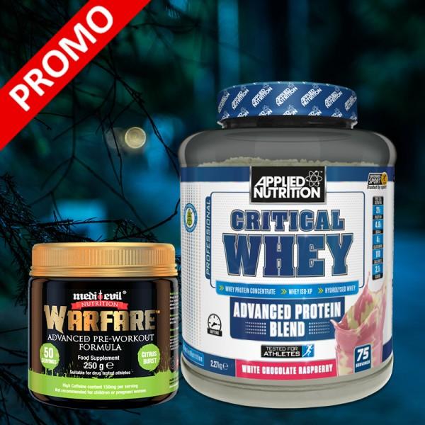 Critical Whey + Warfare /PROMO/