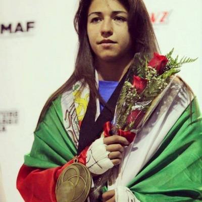 Българка е световен шампион по ММА