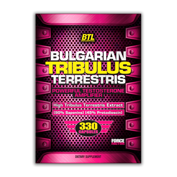 Bulgarian TRIBULUS Terrestris 330caps/500mg