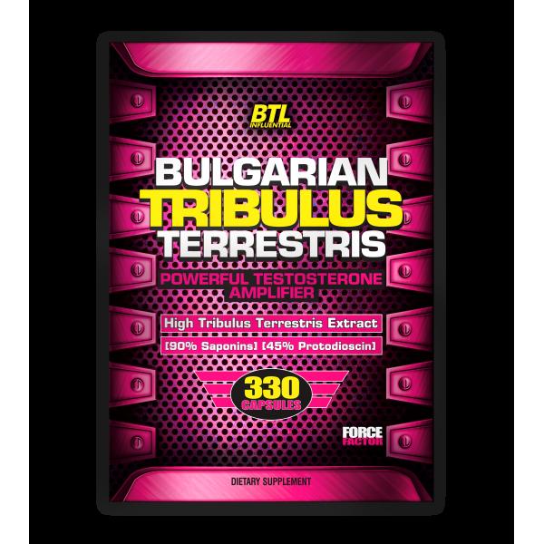 Bulgarian TRIBULUS Terrestris 330caps/500mg
