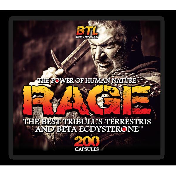 RAGE /Tribulus + Ecdysterone/ 200caps