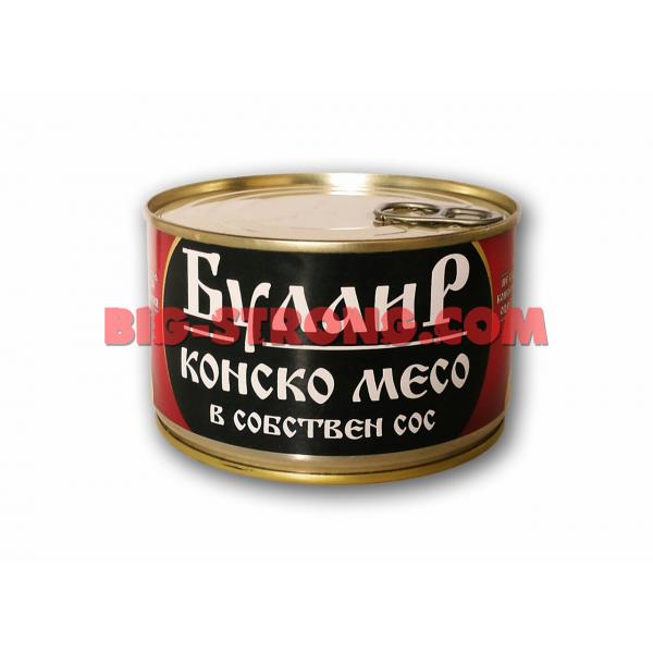 БулаиР - Консерва Конско Месо в Собствен Сос