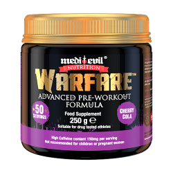 WARFARE ADVANCED PRE-WORKOUT FORMULA
