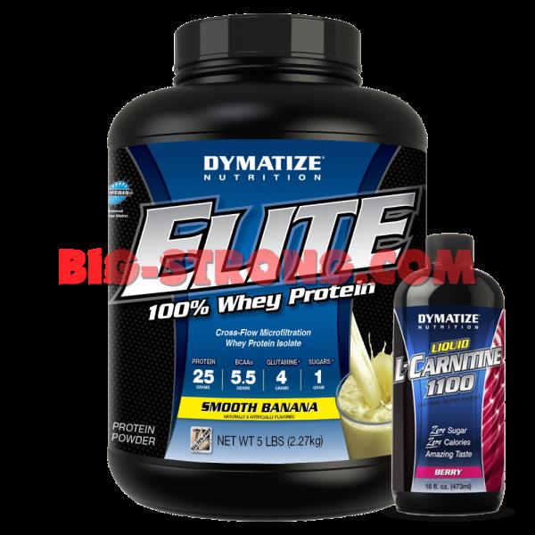 Elite Whey Protein + L-Carnitine Liquid (ПРОМО СТАК)